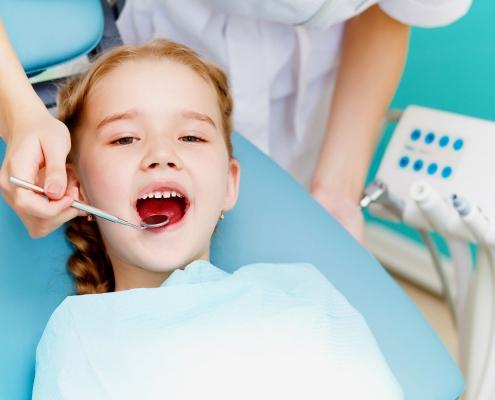 دندانپزشکی اطفال عصب کشی درمان دندان کودکان